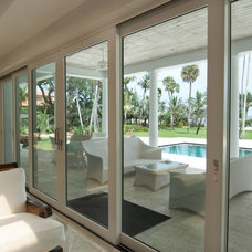 Traditional Living Room by Palm Beach Window & Door