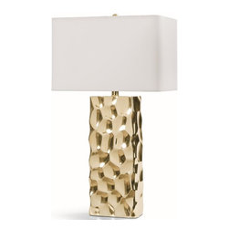 Regina Andrew - Regina Andrew Apollo Lamp-Bright Gold - Redefine contemporary style with the Bright Gold Apollo Lamp from Regina Andrew Design. With an artist's eye, their assortment skillfully mixes modern with rustic, elegant with casual, romantic with relaxed. They have an eclectic vision that resonates with natural style.