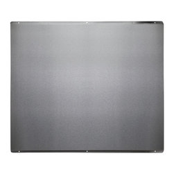"""36"""" Stainless Steel Range Hood Backsplash - Perfect for 36"""" range hoods, this stylish Stainless Steel Backsplash will protect your cooking area and make cleanup easy."""