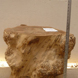 Big Leaf Maple Table Base 3384x2 - Big Leaf Maple Table Base. This can be viewed along with our full inventory of wood slabs, table bases, and burls on our website: www.BerkshireProducts.com