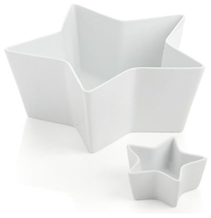 Contemporary Serving Bowls by Crate&Barrel