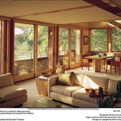 Andersen Windows & Doors - Andersen Frenchwood Gliding 400 Series Patio Doors.