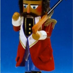 Pinnacle Peak Trading Company LLC - Steinbach Toy Soldier German Nutcracker-Limited Edition-Signed Multicolor - NWG5 - Shop for Holiday Ornaments and Decor from Hayneedle.com! A cherished member of the nutcracker tradition the Steinbach Signed Limited Edition Toy Soldier Nutcracker is part of the Nutcracker Suite series. An original character from the beloved ballet this toy soldier is immaculately detailed with a traditional military hat and ornamental jacket detailed soldier boots and a musket on his shoulder. He stands at a majestic 18 inches tall. The toy soldier is one of a 10 000-piece limited edition signed by Karla Steinbach. This piece is made of genuine high-quality wood has been hand-carved in Germany and is completely painted in freehand. Truly worthy of a family heirloom a centerpiece of a collection or just a wonderful holiday display piece.About SteinbachSteinbach is recognized for the unique design of its wood-carved creations developed many years ago by Herr Christian Steinbach. The Steinbach family started making nutcrackers and other items in the 1800s in the Alpine regions of Germany. The tradition of creating hand-carved Steinbach German Nutcrackers is carried on by the Steinbach family which remains responsible for the product concept development design manufacture and quality control at the Hohenhameln factory in the northern region of Germany.Steinbach items are highly collectible. If you are starting a new collection or adding to your existing collection you will love these unique masterpieces. These treasured collectibles are handed down from generation to generation.The Making of Steinbach NutcrackersEach Steinbach nutcracker is produced using up to 130 separate procedures. Genuine hardwood is cut and shaped into specific sizes and parts. The wood is then turned by hand using an ancient process that creates smooth clean surfaces. The pieces are lathed polished and drilled before they are turned over to experienced craftsmen who prime and spray them repeatedly alternating the process with drying to produce an even tone. Carving comes next; wood-carving artisans use knives and finely honed skill to add personality and detail to the pieces. Finally the painters take over; trained German artists paint these nutcrackers freehand. The result is a truly unique one-of-a-kind product that is a must-have for collectors and art lovers alike.