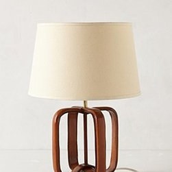 Anthropologie - Saddle Strap Lamp Base - *Leather, steel