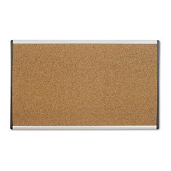 Quartet - Quartet 24 x 14 in. Cork Cubicle Bulletin Board Multicolor - QRTARCB2414 - Shop for Bulletin Boards from Hayneedle.com! The Quartet 24 x 14 in. Cork Cubicle Bulletin Board is ideal for use around school or office corridors to pin-up important announcements. Featuring self-healing corkboard it ll hide the pinholes and resists crumbling. This board is suitable for most fabric panel wall systems even in the absence of overhead bins. Its flexible mounting system enables you to mount it on a cubicle wall or a dry wall. Apart from this its aluminum frame adds to its durability as well as gives it a contemporary appearance.About United StationersDedicated to making life in the office more organized efficient and easier United Stationers offers a wide variety of storage and organizational solutions for any business setting. With premium products specifically designed with the modern office in mind we're certain you will find the solution you are looking for.From rolling file carts to stationary wall files every product in the United Stations line is designed with one simple goal: to improve office efficiency. In turn you will find increased productivity happier more organized employees and an office setting that simply runs better with the ultimate goal of increasing bottom line profits.