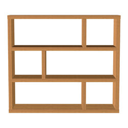 Temahome - TemaHome Dublin Low, Mukali - Veneered with a mukali wood finish, great shelving at a fantastic price.