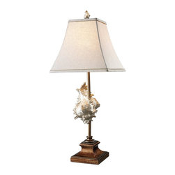 Dimond - Dimond D1979 Delray Tropical Table Lamp - With 2-way switch.