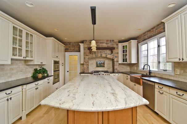 Mediterranean Kitchen Countertops by Mark Petinga Photography, Inc.