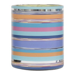 "Missoni Home - Laguna Candle by Missoni Home - As developed by APOTHIA in Los Angeles, the Missoni Home Laguna Candle's overall fragrance is termed as ""Fresh Floral."" The layered scent notes evoke a cool Mediterranean wind blowing across land and water, picking up hints of jasmine, dianthus and rose along the way. Underneath these bright floral tones lies a range of warm woody scents and bergamot leaf. Missoni Home, the beloved fashion brand's home collection, features a range of richly patterned rugs, throws, pillows, linens and accessories. Strong colors, bold graphics and whimsical layering are all hallmarks of the creative vision behind Missoni Home."