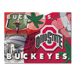Holland Bar Stool - Holland Bar Stool CnvsOhioSt Ohio State Printed Canvas - CnvsOhioSt Ohio State Printed Canvas belongs to College Collection by Holland Bar Stool The perfect way to show support for your school, our Printed Canvas displays a collage of images that will fill you with pride for your favorite college. With it's simple but elegant design, colors burst off the canvas and create an eyecatching piece ideal for your office, garage, or any room of the house. Whether purchasing as a gift or for yourself, you can take satisfaction knowing you're buying a Printed Canvas that is proudly Made in the USA by Holland Bar Stool Company, Holland, MI. Wall Panel (1)