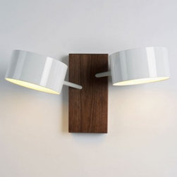 Roll and Hill | Excel Double Wall Sconce -
