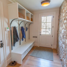 Traditional Entry by Heartwood Design