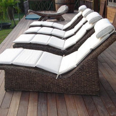 Contemporary Outdoor Chaise Lounges by Idlewild Furnishing