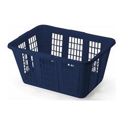 Rubbermaid - Rubbermaid Laundry Basket, Royal Blue (8-Pack) (FG296585ROYBL) - Rubbermaid FG296585ROYBL Laundry Basket, Royal Blue (8 Pack)