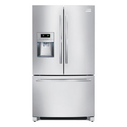 Frigidaire - FGEB28D7QF 27.8 cu. ft. Capacity French Door Refrigerator with Adjustable Interi - This 278 cu ft capacity French door refrigerator can be customizable in over 100 ways