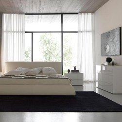 Coco Platform Bed By Rossetto - Modern Italian Design