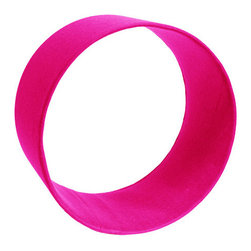 The Felt Store - Wool Felt Circle Shelf - 12 x 6 Inch Shocking Pink - The Felt Store's circles shelves provide a lovely way of showcasing small collectables and adding a splash of colour to the home. Pick and choose from a variety of colours and sizes to create your own wall designs. Each circle is encased in our 100% Wool Felt, an eco-friendly high quality felt. For wall installation simply nail or screw two nails at the 150 and 30 degree position of where the circle will be placed. Use individual circles or create a cluster of colours for visual impact. Each circle measures 12 inches in diameter and is available in three depths:  4 inch, 6 inch, and 8 inch. Our felt clocks are sized to fit snug in these circle shelves.