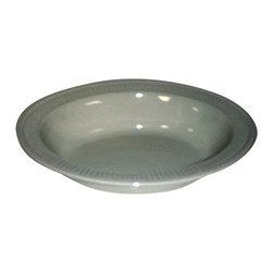 Wedgwood - Wedgwood Edme Oval Rimmed Vegetable Bowl - Wedgwood Edme Oval Rimmed Vegetable Bowl