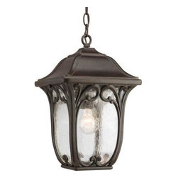 Progress Lighting - Progress Lighting Outdoor Lanterns. Enchant Outdoor Espresso Hanging Lantern - Shop for Lighting & Fans at The Home Depot. Welcome your guests with a gracious, paisley pattern inspired coach light that features clear, seeded glass panels. Constructed of durable materials for years of enjoyment. Rich, hand painted finish. Open bottom design allows for easy access to change bulb.