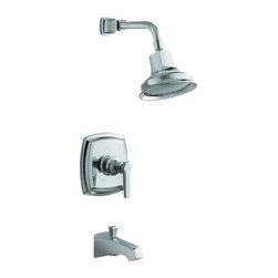 KOHLER - KOHLER K-T16225-4-CP Margaux Bath and Shower Faucet Lever Handle Trim - KOHLER K-T16225-4-CP Margaux Bath and Shower Faucet Lever Handle Trim in Polished Chrome