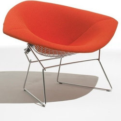 Knoll - Knoll | Large Diamond Lounge Chair, Fully Upholstered - Design by Harry Bertoia, 1950.