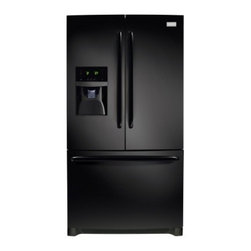Frigidaire - FFHB2740PE 26.7 Cu. Ft. French Door Refrigerator With Adjustable Interior Storag - 267 cu ft capacity and over 100 ways to organize and customize your refrigerator this refrigerator can store anything you wantA large capacity Cool Zone drawer extends completely and provides space to easily store anything from sheet cakes and large ...