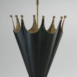 Cyan Design - Umbrella Holder - Umbrella holder - gold and black