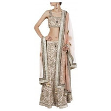 Blush vintage lehenga available only at Pernia's Pop-Up Shop.