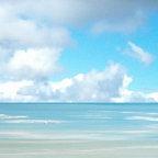 Contemporary Art, Beach Painting - Water's Edge - Francine Bradette