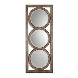 Uttermost - Uttermost Isandro Mirror - Uttermost Isandro Mirror is a Part of Grace Feyock Designs Collection by Uttermost Made of hand forged metal, this frame features and open design that allows wall color to show thru and is finished in silver undertones with a black-gray wash and burnished edges. Mirrors are beveled. Wall Mirror (1)