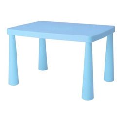 MAMMUT Children's table - Children's table, light blue