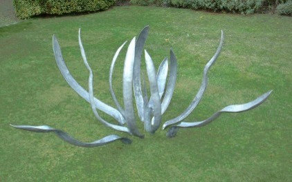 eclectic garden sculptures by Bouf