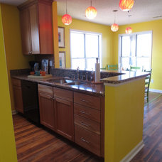 Eclectic Kitchen by Asia Evans Artistry