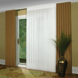 Luminette® Modern Draperies with Combination Wand/Cord system - Hunter Douglas Luminette® Collection Copyright © 2001-2012 Hunter Douglas, Inc. All rights reserved.