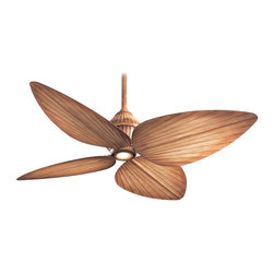 "Minka Aire - Minka Aire F581-BG Gauguin Bahama Beige 52"" Outdoor Ceiling Fan + Wall Control - Features:"