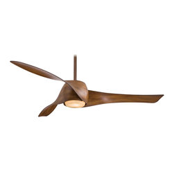 "Minka Aire - Minka Aire F803-DK Artemis Distressed Koa 58"" Modern Ceiling Fan + Wall Control - Features:"