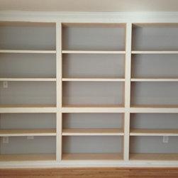 Built-in Bookshelves -