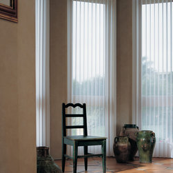Luminette® Privacy Sheers with Combination Wand/Cord system - Hunter Douglas Luminette® Collection Copyright © 2001-2012 Hunter Douglas, Inc. All rights reserved.
