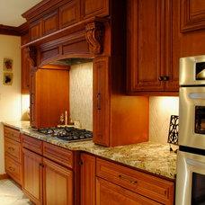 Mediterranean Kitchen Cabinets by Sterling Kitchen & Bath