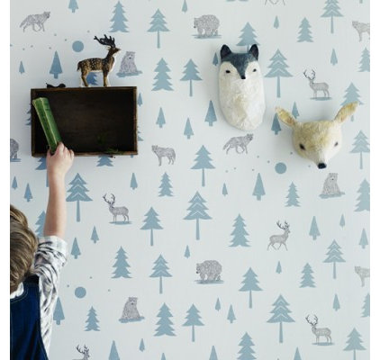 contemporary wallpaper by Hibou Home