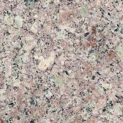 "Almond Mauve Granite Polished Floor Tiles 12"" x 12"" - Lot of 250 Tiles - 12"" x 12"" Almond Mauve Solid Polished Finish Square Pattern Granite Floor Tile. This beautiful granite tile features a smooth, high-sheen finish and a random variation in tone to help add style to your decor along with your bathroom vanity. Designed for floor, wall and countertop use, this granite tile is marginally skid resistant to suit your needs. Simply gorgeous tile."