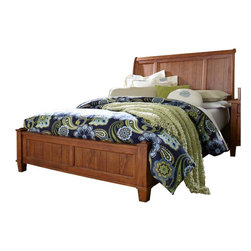 Broyhill - Broyhill Attic Heirlooms Vintage Sleigh Bed - Broyhill - Beds - 439X2XXSleighBed - About This Product: