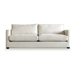 Richmond Sofa - Gus Modern is inspired by simple forms and honest materials. They use them as a springboard for everything they create. Form the simple two-by-four or construction i-beam, to the useful miter box, they delight in the simplicity of everyday objects. The result is furniture, accent pieces, and accessories that mix the elegant with the industrial. Mirroring the great modernists of yesterday, they strive to design great design and practical purpose.