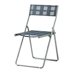 Mia Gammelgaard - HÄRÖ Folding chair - Folding chair, light gray