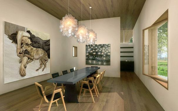 Modern Dining Room by Axis Mundi