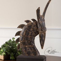 "17072 Horse Armor by Uttermost - Get 10% discount on your first order. Coupon code: ""houzz"". Order today."