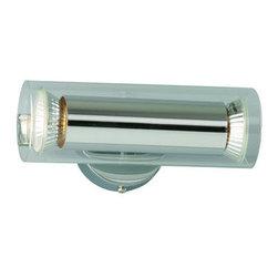 """ET2 - ET2 E22027 Flash 7"""" Wide 2-Bulb Bathroom Light Fixture - Product Features:"""