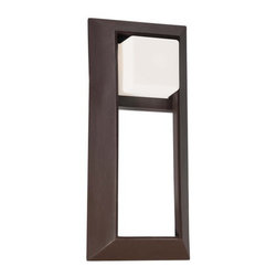 """The Great Outdoors - The Great Outdoors 72343-615B 2 Light 18"""" Height Outdoor Wall Sconce Ca - Two Light 18"""" Height Outdoor Wall Sconce from the Casona Square CollectionFeatures:"""