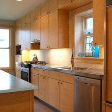 Contemporary Kitchen by Amish Custom Kitchens