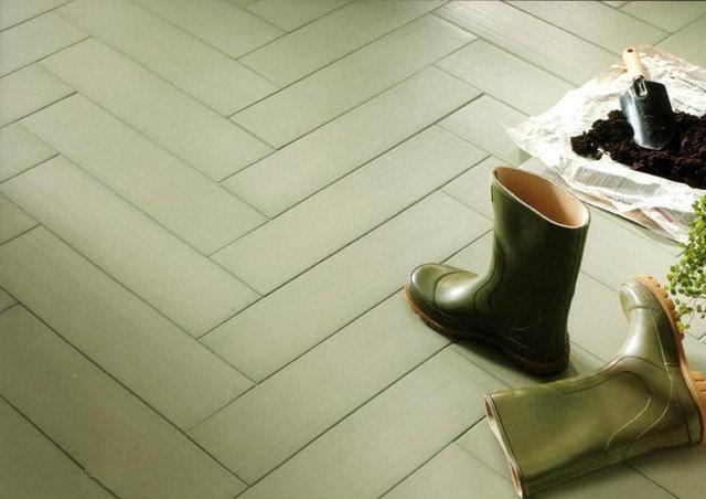 Eclectic Floor Tiles by Cercan Tile Inc.